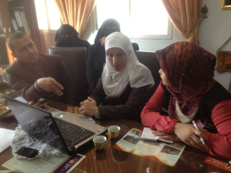 Discussion with women project